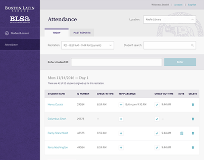 Boston Latin School App