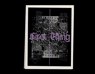 F1RST THINGS F1RST