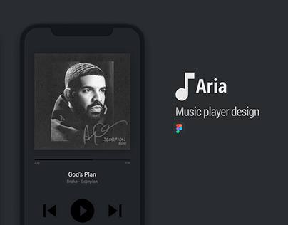 ARIA - Music player design