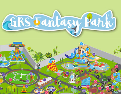 Amusement park Map - for GRS fantasy park