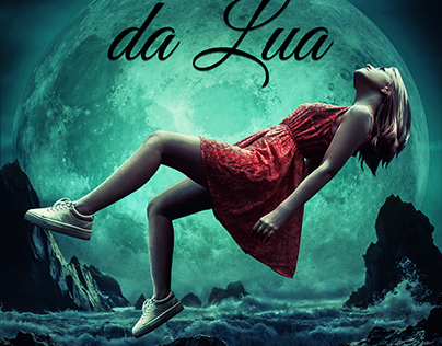 As Fases da Lua - Cinthia Sampaio (Book Cover)