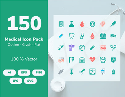 Medical Collection Icon set