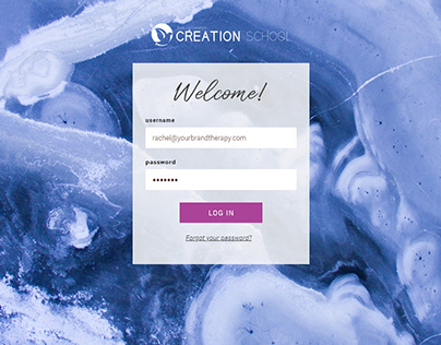 Creation School Membership Site