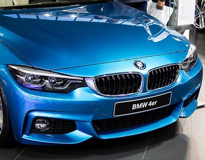 BMW 4 Series Photoshoot