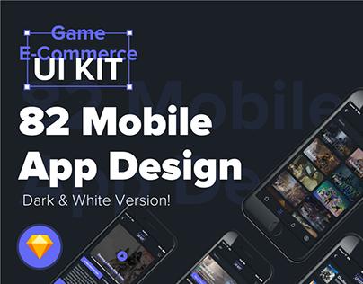 DesignUI Game E-Commerce Mobile App UI Kit