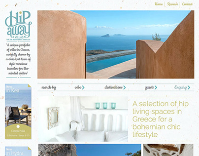 Web design Hipawayvillas