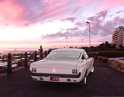 Render: Mustang 1965