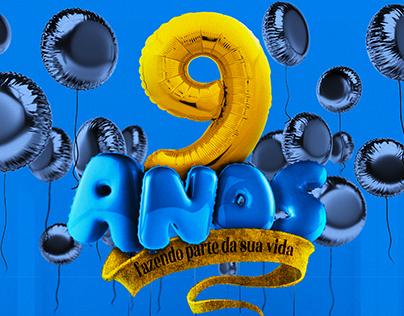 Aniversário 9 anos Brasil Park Shopping
