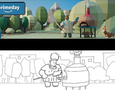 Amazon Prime Day 2017 Banner animation
