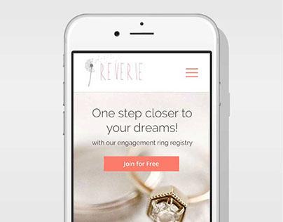 Reverie Mobile Website
