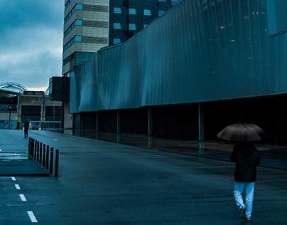 ( Under Rain ) Fòrum Skate Park - Barcelona, Spain
