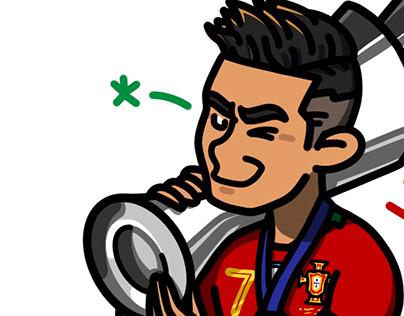 UNL champion Portugal _ Cristiano Ronaldo 7