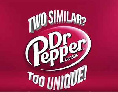 Dr Pepper - Two Similar, Too Unique