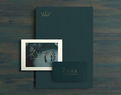 Kyra All-Natural Hair & Beauty Studio Branding