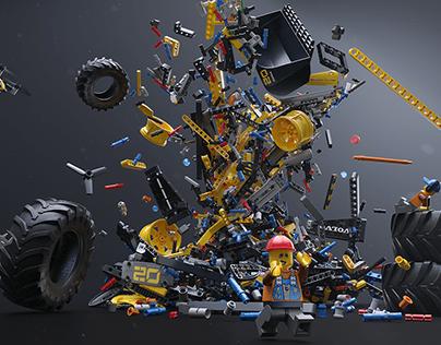 LEGO Technic Volvo ZEUX