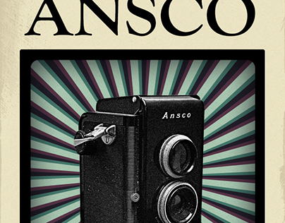 ANSCO Vintage Poster