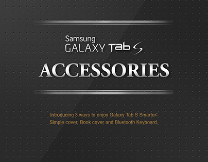 Infographic about Samsung Galaxy Tab S Accessories