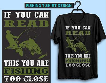 Fishing T-shirt hunting T-shirt Design