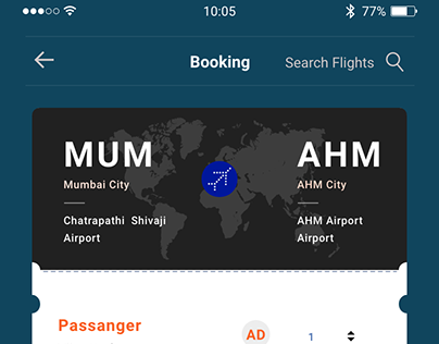 Ticket Booking Application Design
