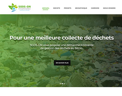 SGDS-GN Proposition Site Web non retenue