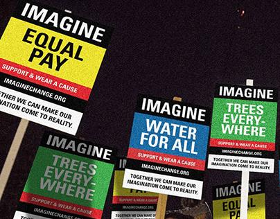 IMAGINE - WEAR A CAUSE