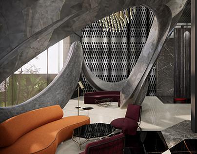 Pearl Marble Showroom | Interior Design | Bangalore