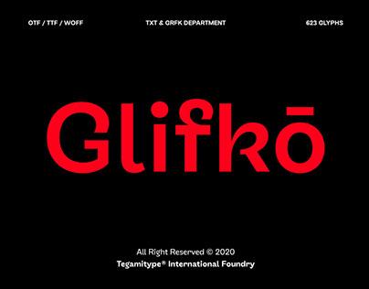 TG Glifko Typeface