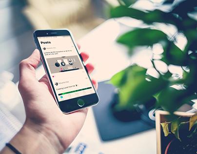 Game On - iOS App Design