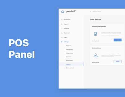 Admin panel for chef