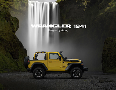 JEEP WRANGLER 1941 - Designed by Mopar