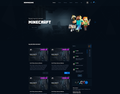 Rewindzone Webdesign