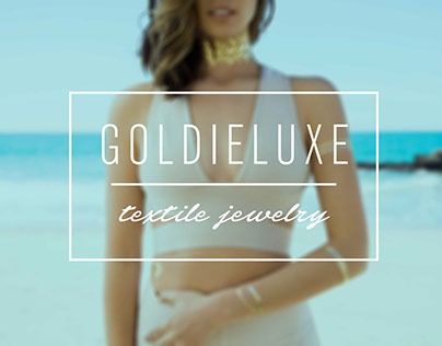 GoldieLuxe | Identity design