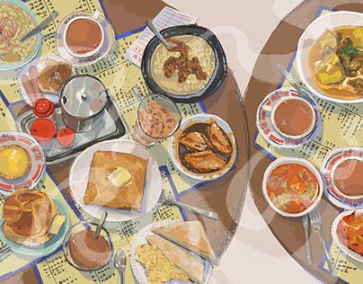 Hong Kong food: Cha Caan Teng Food