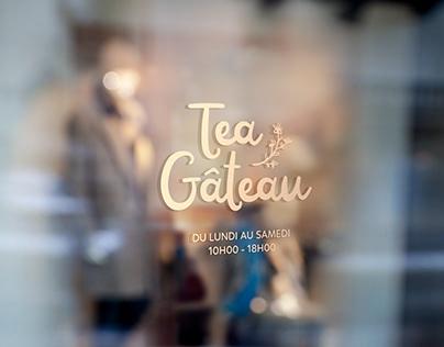 Création logo Tea Gâteau pâtisseries