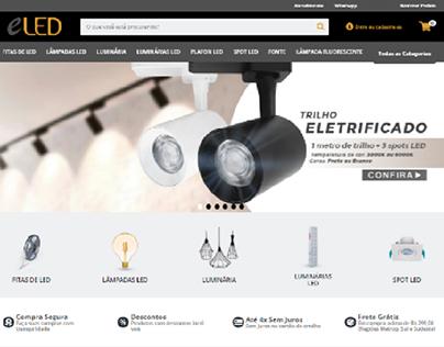 Site ELED - Produtos/Banners