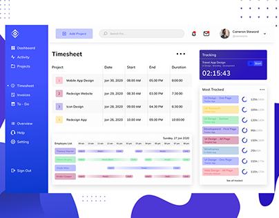Time Tracking - Web App Exploration