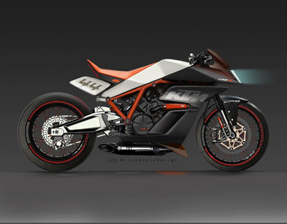 KTM CR8R Concept Sketch