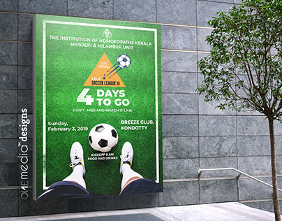 Football Promotional Poster