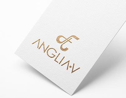ANGLIAV  || logo redesign