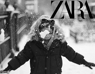 ZARA- LITTLE WINTERS CAMPAIGN