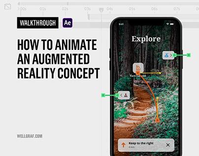 Walkthrough - Creating an Augmented Reality Concept