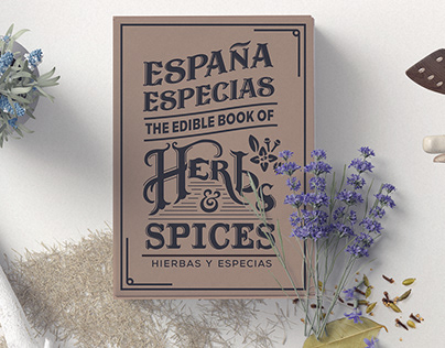 Espana Especias - The edible book of herbs and spices