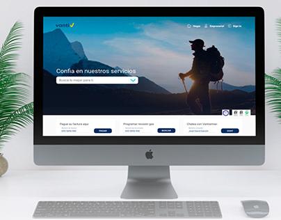 Propuesta rediseño web site UX/UI