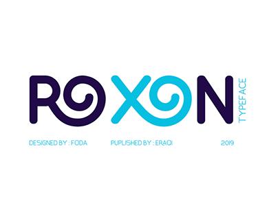 ROXON Typeface