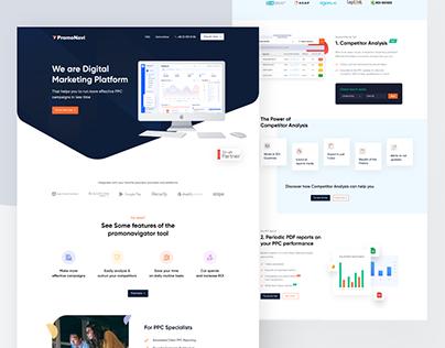 Promonavigator- PPC Marketing Website Redesign