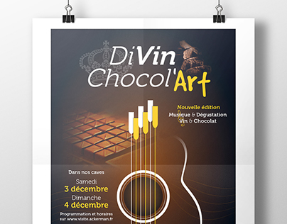DIVIN CHOCOL'ART // Maison Ackerman