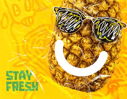 Stay Fresh | Fun Wallpaper