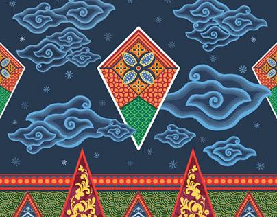Seven Eleven Digital Batik Design Competition 2016