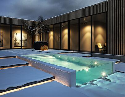 Mini Pools Blaauw Modern Style