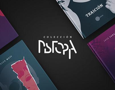 Ilustración para colección editorial Distopia.